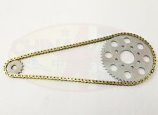 Sinnis Apache 125 (Gearing Upgrade 16T) Heavy Duty Chain & Sprockets GOLD
