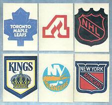 1972-73 NHL TEAM SET  LOGO  (LOT 17) FRIDGE MAGNET