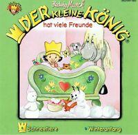 Kleine König - hat viele Freunde - Hedwig Munck - Schneetiere - Winteranfang