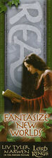 Arwen Liv Tyler Arwen Lord of the Rings Bookmark NEW/MINT CONDITION LOTR Hobbit