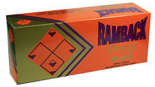 50 (Fifty) Cartons Ramback Elite Silver (Light) Cigarette Tubes 200ct per Box