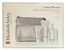 Gift Set Elizabeth Arden Visible Difference Skin Serum Lotion Exfoliant Toner