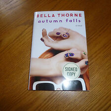 BELLA THORNE AUTOGRAPHED AUTUMN FALLS SIGNED BOOK PRETTY IN PINK