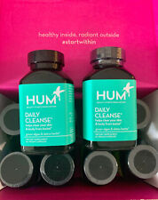 HUM Nutrition DAILY CLEANSE - 60 Caps - PACK X 2 - EXP 09/22
