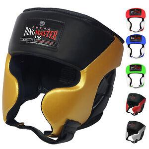 RingMaster Head Guard Gear Senior Boxing MMA Martial Arts Fight Kick Training