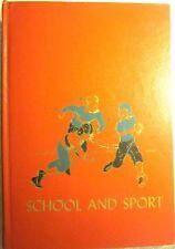 The Children's Hour Vol. #10 SCHOOL & SPORT (1953) Marjorie Barrows (Very Good)