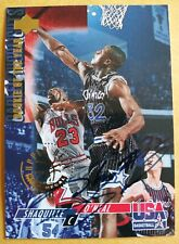 SHAQUILLE O'NEAL 1994 Upper Deck USA ROOKIE OF THE YEAR #50 GOLD MEDAL /1994 COA