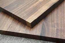 Tischplatte Platte Nussbaum Massiv Holz mit Baumkante NEU Tisch Brett Leimholz