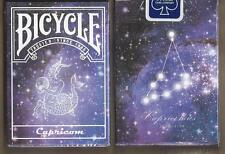 1 DECK Bicycle Constellation CAPRICORN zodiac playing cards FREE USA SHIPPING