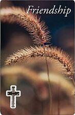 Friendship Prayer Card God's Most Precious Gift Religious Verse Holy Keepsake