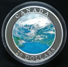 2003 CANADA $20 1oz. .999 SILVER NATURAL WONDERS COIN - RCM - The Rockies