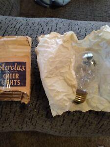 Vintage Aerolux Spectrum Cher Lights,  Pink Rose Light Bulb Nos