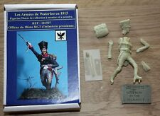 NAPOLEON - HISTOREX-ARMEES DE WATERLOO- OFFICIER PRUSSIEN -WATERLOO-1815-54 mm
