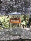 Rare+Vintage+Owl+Drug+Co%2C+Glass+Bottle+with+a+Owl+Drug+Co%2C+Gasoline+label%C2%A0