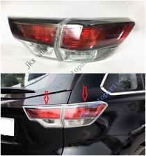 For Toyota Highlander 2014-2016 Tail Light Rear Lamp (RH Passenger Inner+Outer)