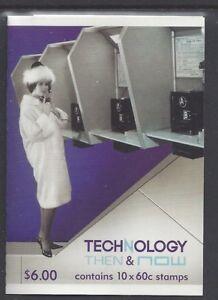 Australia 2012 Technology Then & Now Booklet Phil 214234 - B519