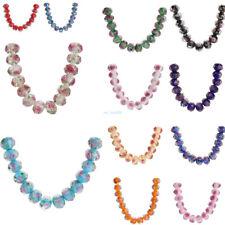 10 Fashion Rose Bead Handmade Craft Spacer Jewelery Making Loose Beads 8 10 12mm