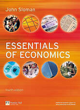 Essentials of Economics with MyEconLab Access Card, Sloman, Mr John, Used; Very