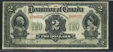 """1914 $2 Dominion of Canada. 494652B. DC-22a. No Seal. Curved """"Will pay.."""""""