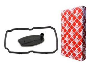 Mercedes Transmission Plug+Filter+Gasket Kit C CL CLK CLS E G ML S SL SLK FEBI