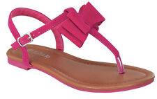 alvina-27k Toddlers Youth Wedding Party Sandals Girls' Dress Shoes Fuchsia 3