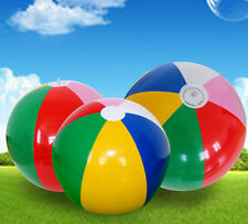 New Inflatable Blowup Panel Beach Ball  Holiday Party Swimming Garden Toy WOAU