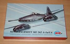 28-72019 MPM 1/72nd SCALE MESSERSCHMITT Me 262A-1a/U4 PLASTIC MODEL KIT
