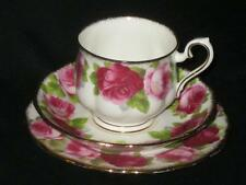 Royal Albert Old English Rose Tea Trio (cup, saucer & tea plate)