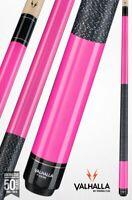 Valhalla by Viking 2 Piece Pool Cue / case - Pink w. wrap - Lifetime Warranty