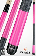 Valhalla by Viking 2 Pc pink Pool Cue / case - Lifetime Warranty