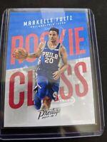 2017-18 Panini Prestige Basketball Rookie Class #1 Markelle Fultz 76ers