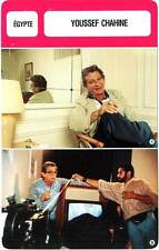 FICHE CINEMA :  YOUSSEF CHAHINE -  Egypte (Biographie/Filmographie)