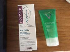 Noviderm Boréade LP soin anti-imperfections + Vichy normaderm gel nettoyant NEUF
