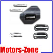 For 99-06 GM Pickup Silverado Sierra Chrome 4 Door Handle Level Cover 4PCS