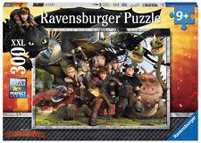 300 Teile Ravensburger Kinder Puzzle XXL Dragons Treue Freunde 13198