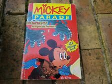 MICKEY PARADE n° 119 de 1989 , bon état, voir photo.