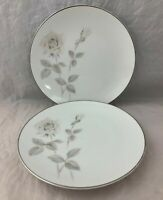 "Noritake China - Melrose 6002 - Pair Bread & Butter Plates - 6 3/8"" - Japan"