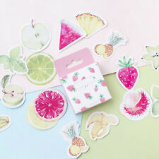 45Pcs/Lot Cute Fruit Mini Decor DIY Album Diary Scrapbooking Label Sticker Fashi