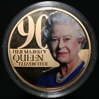 2015 | Guernsey Elizabeth II 90th Birthday Fifty Pence | Coins | KM Coins