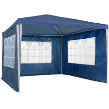 Gazebo Jardín Fiesta Camping Tienda Carpa pabellón con Paredes laterales 3x3m