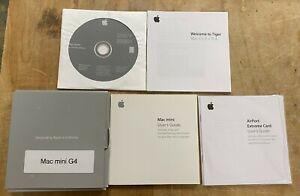 Apple Mac mini G4 Original Software Packet