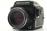 【NEAR MINT】 Mamiya M645 1000s WLF + Sekor C 80mm f/2.8 From Japan 1022
