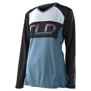 Troy Lee Designs Womens GP Jersey Icon - Blue