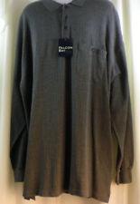 Falcon Bay Shirt Mens 3XLT BIG & TALL NWT Gray 100% cotton Classics Collection