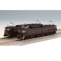 Kato 10-1430 Electric Locomotive EF63 1st/2nd Ed. JR Type Brown 2 Cars Set - N