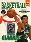 2022 Beckett Basketball Card Annual Value Price Guide 29th Edition Giannis Cover