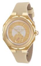 Invicta Women's 31666 Angel Quartz 3 Hand Gold Dial Watch