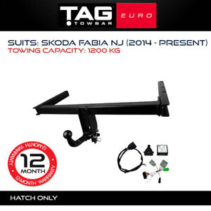 TAG Euro Towbar to suit Skoda Fabia 2014-Current Towing Capacity 1200Kg 4x4 4WD