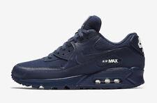 New Men's Nike Air Max 90 Essential Shoes (AJ1285-404)  Midnight Navy / White