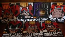 Judge Dredd: The Complete Case Files - #1-6, #8 2000AD 1st Ptg - 7 Volumes TPB